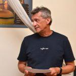 Na prezentaci promluvil recenzent publikace, historik Prokop Tomek