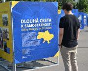 Výstava Dlouhá cesta k samostatnosti. Dějiny Ukrajiny ve 20. století v rámci festivalu Mene Tekel na Praze 2