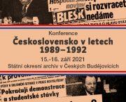 Uspořádali jsme konferenci Československo v letech 1989-1992