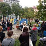 Za ÚSTR výstavu zahájil náměstek ředitele Ondřej Matějka.