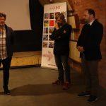 Vernisáž výstavy 7. října 2021, Pavel Paleček, Martin Tichý a Zdeněk Hazdra